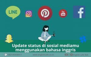 update status pake english di sosial media