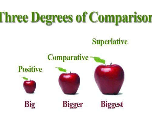 Contoh Percakapan Bahasa Inggris yang Menggunakan Degree of Comparison