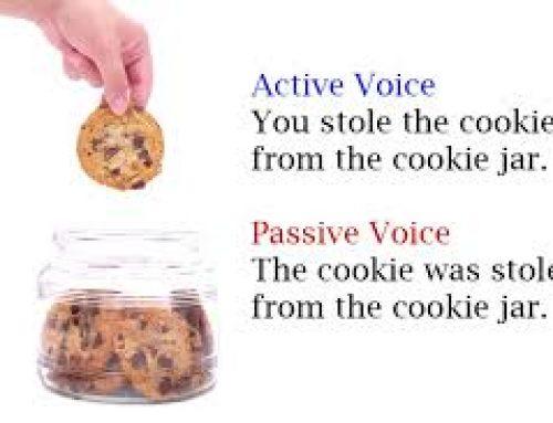 Percakapan Bahasa Inggris dengan menggunakan Passive Voice (Been done/Being done)