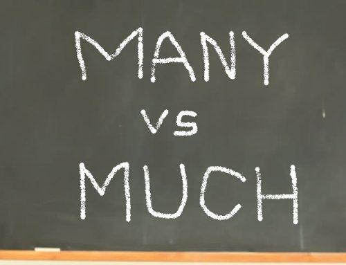 Perbedaan Many dan Much Lengkap Dengan Contoh Kalimat dan Artinya