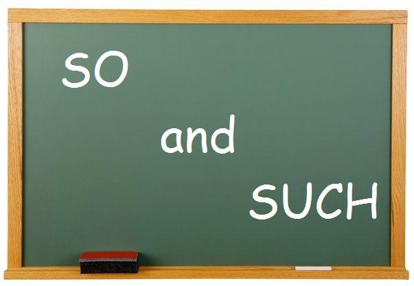 Penggunaan So Dan Such Dalam Bahasa Inggris Lengkap Dengan Contoh