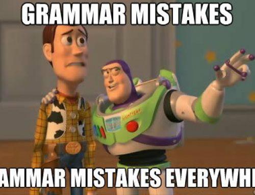 5 Kesalahan Grammar dalam bahasa Inggris yang Sering Terjadi
