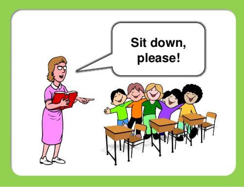 Kalimat Bahasa Inggris yang digunakan Guru di dalam Kelas