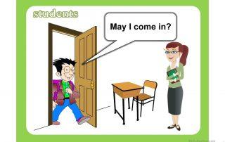 classroom languange student