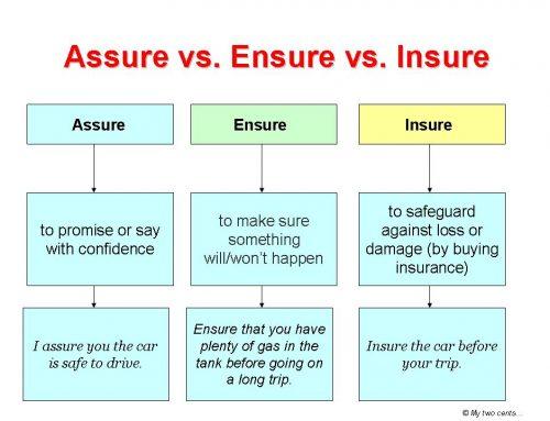 Contoh Percakapan dengan Menggunakan Kata Assure dan Secure dalam Bahasa Inggris Beserta Artinya