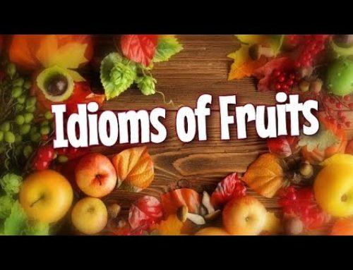 Idioms Menggunakan Kata Buah dalam Bahasa Inggris beserta Artinya