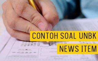 Soal Ujian Nasional Bahasa Inggris SMA SMK News Item