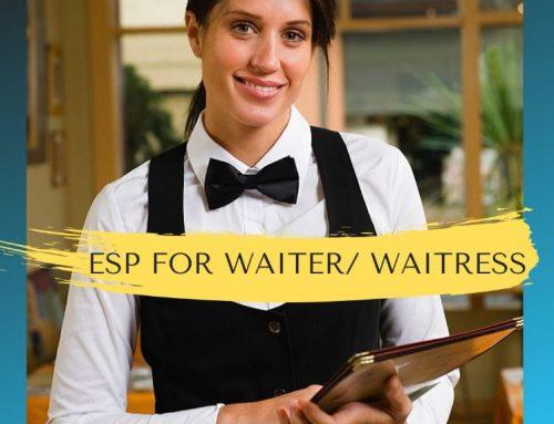 Kursus Bahasa Inggris Untuk Pelayan (ESP for Waiter/Waitress)