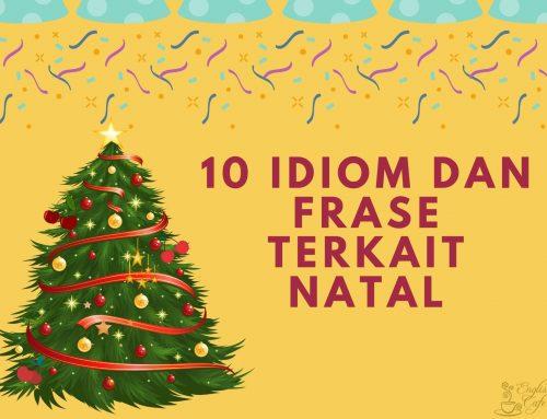 10 Idiom dan Frase Terkait Natal