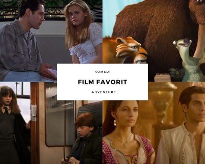 pilih film favorit untuk belajar bahasa inggris